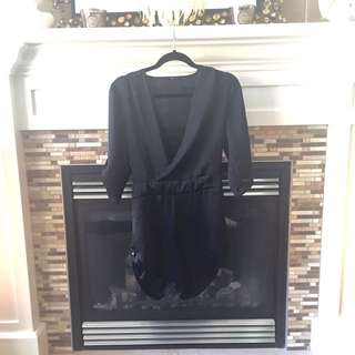 Dex Black Romper