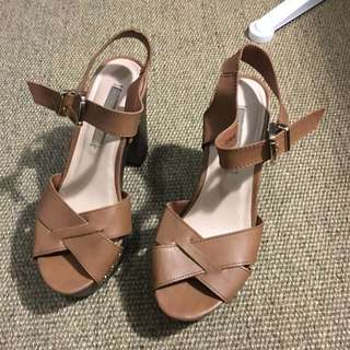 Clog Style Heels