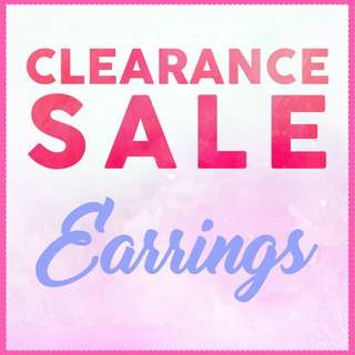 Earrings - CLEARANCE SALE