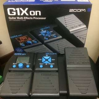 ZOOM G1XON multieffect For Guitar