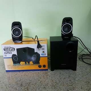 2.1 Speaker Creative SBS A250