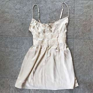 Gold h&m Top