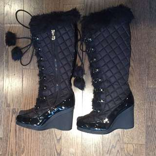 Bebe Sport Winter Boots With Fur