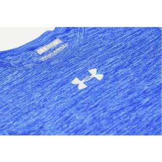 Under Armour CoolSwitch Supervent Short Sleeve Shirt - Blue (Ready Stock)