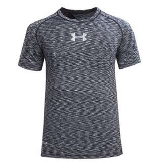 Under Armour CoolSwitch Supervent Short Sleeve Shirt - Black (Ready Stock)