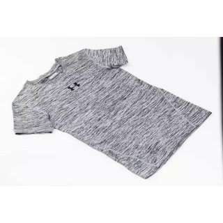 Under Armour CoolSwitch Supervent Short Sleeve Shirt - Grey (Ready Stock)