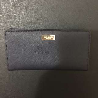 Kate Spade Stacey Wallet (Saffiano/Navy)