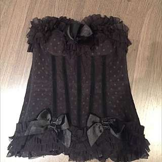 Sexy Bustier/corset Nightwear
