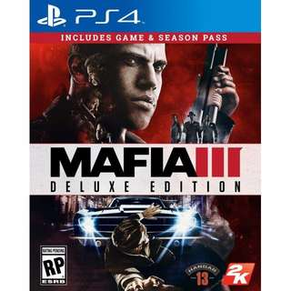 PS4 Mafia 3 Deluxe Edition