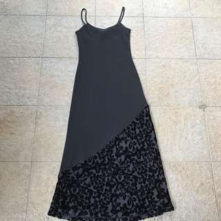 Laura Ashley Black Dress
