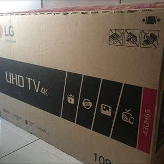 43 Inch UHD 4K Smart LED TV LG
