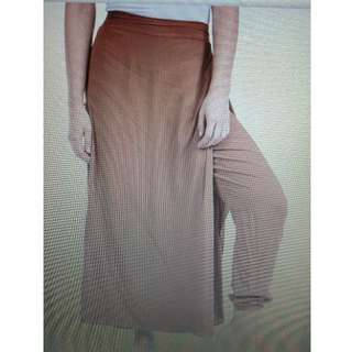 nashiwa pants skirt warna krem