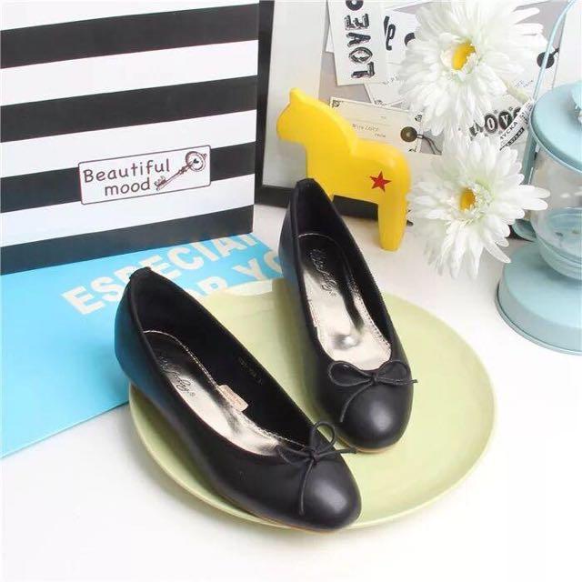 2016新款韓版設計經典款簡約平底純色淺口休閒鞋