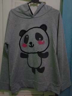 jaket/ sweater nevada panda lucu
