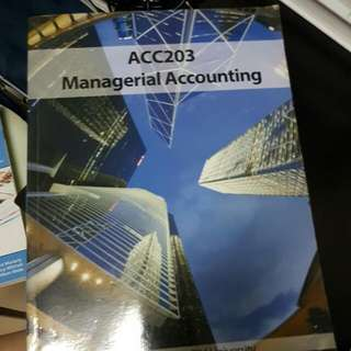 ACC2023 MANAGERIAL ACCOUNTING