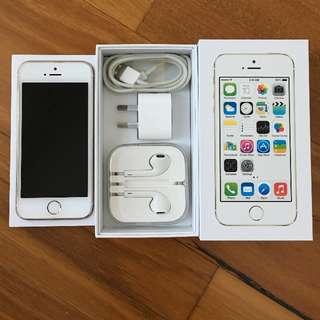 Apple iPhone 5S, Gold, 64GB