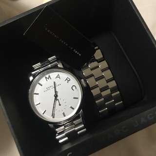 Marc Jacobs Baker Watch - SIlver