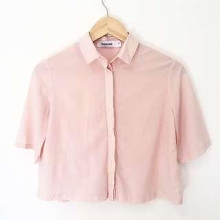Editor's Market Pink Shirt