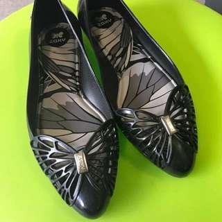 ZAXY Black Ballet Flats