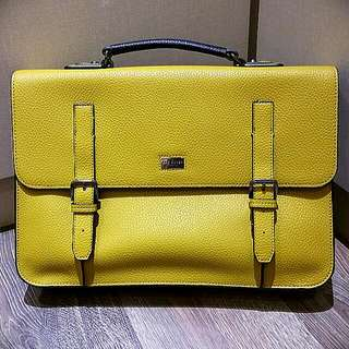 Fast Deal..New Authentic Ted Baker Men's Buckle Satchel.
