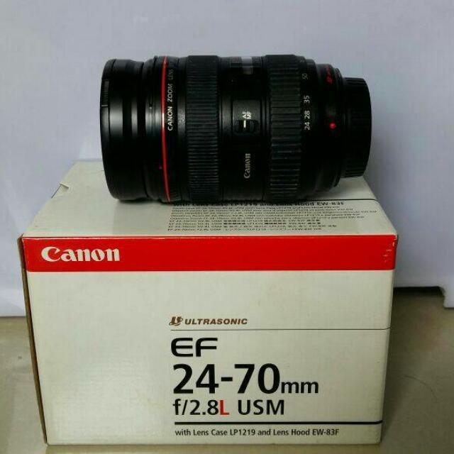 24-70mm F2.8 L series