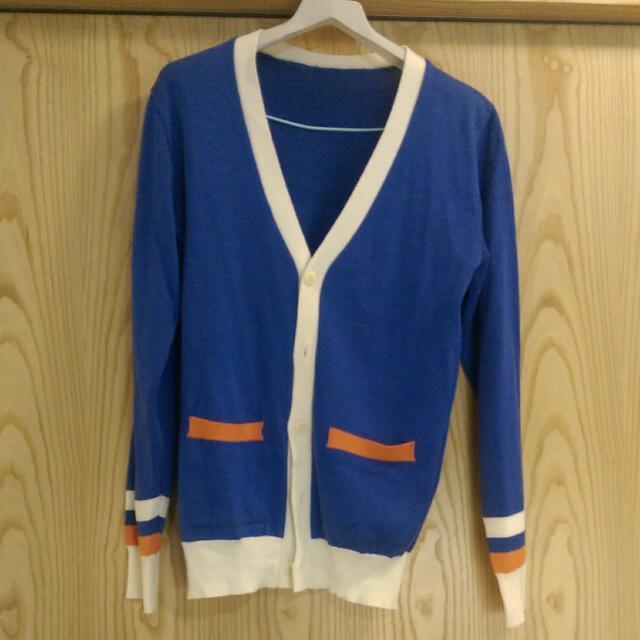 99%新韓國大學風開襟外套
