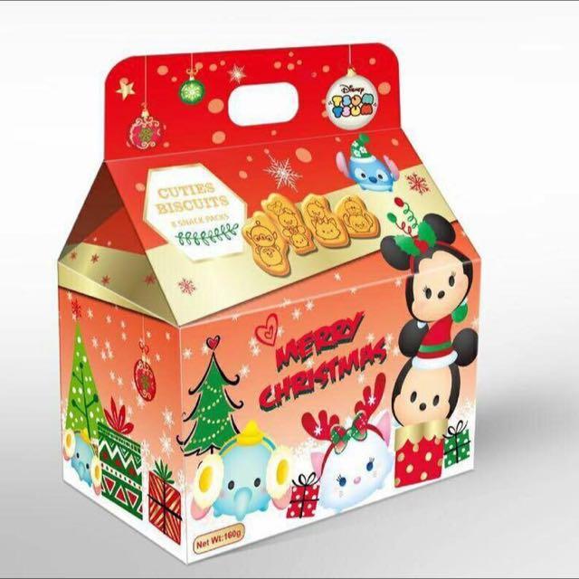 迪士尼限量聖誕餅乾禮盒