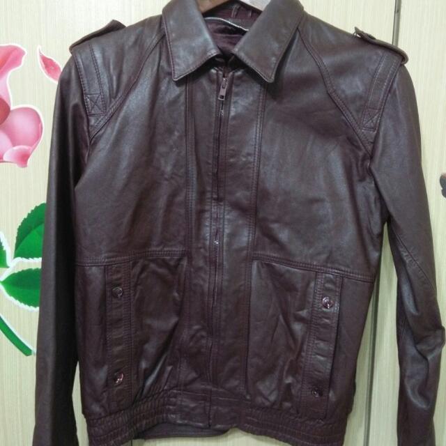 二手舊款式真皮皮衣外套可換物