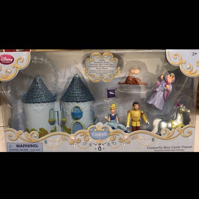 迪士尼 灰姑娘手提玩具組