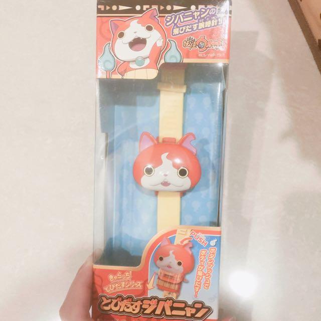 日本帶回 吉胖喵手錶 戴過一次 幾乎全新