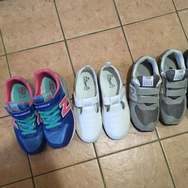 Adidas 愛迪達 New Balance NB Nike 懶人鞋 魔鬼氈 大童鞋