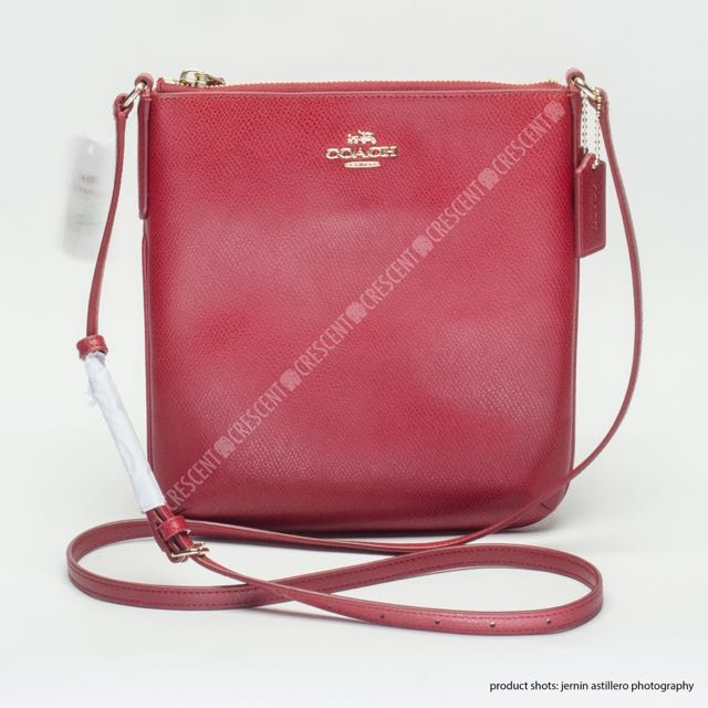 Authentic coach calf skin leather sling preloved women fashion jpg 640x640 Leather  sling bag coach laptop 604f1ab310