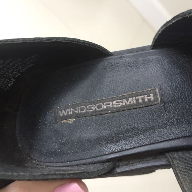 "Authentic Windsor Smith ""puffy"" Shoes Heels"