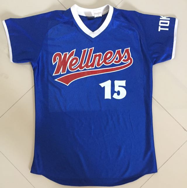 Baju Baseball Jersey
