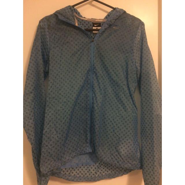 Blue Nike Spray Jacket