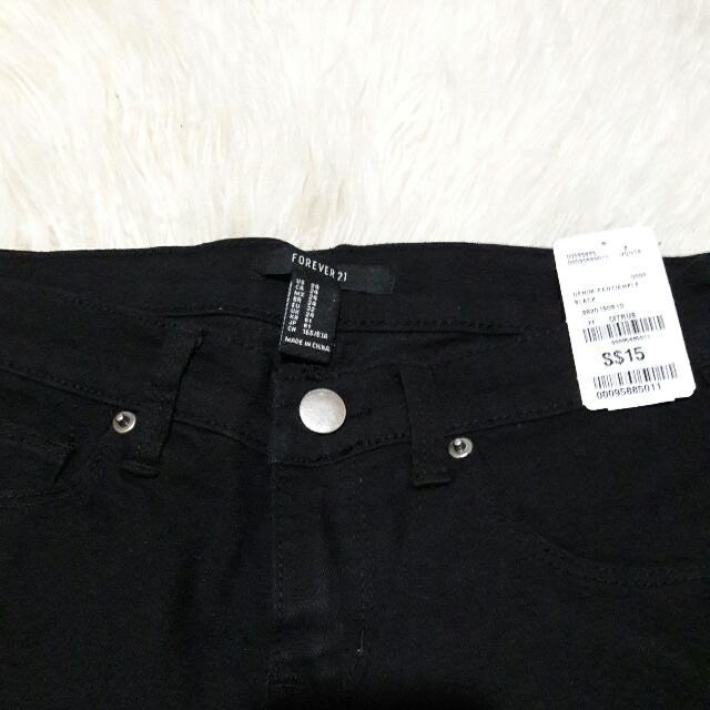 BNWT F21 black jeans