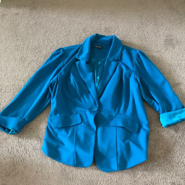 City Chic Ladies Blazer Size Small