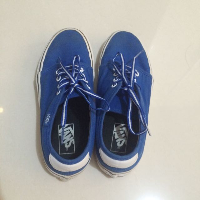 Classic Blue Vans Men's Size 7
