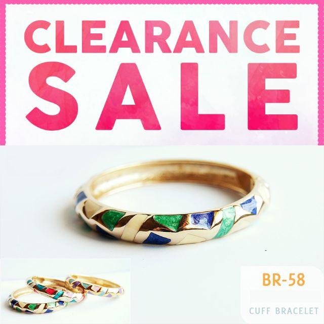 Cuff Bracelet - CLEARANCE SALE