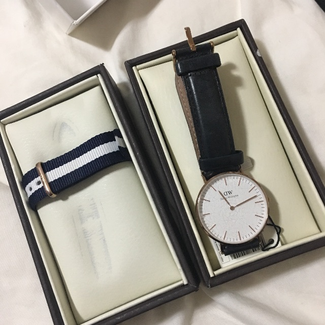 Daniel Wellington Classic Sheffield + New strap