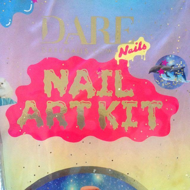 'DARE NAILS' Nail Art Kit