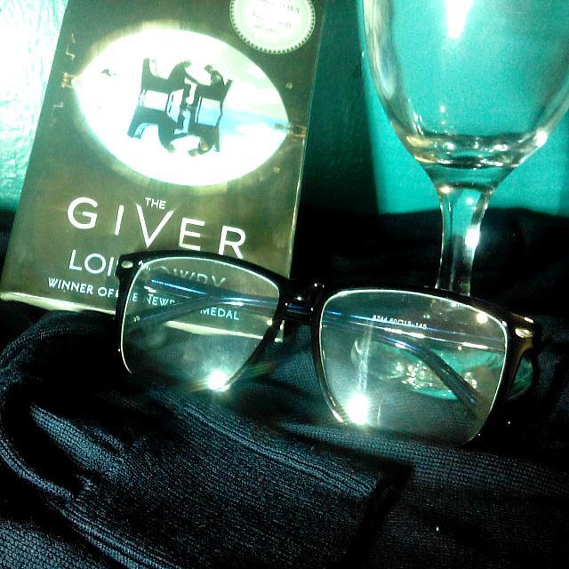 Dark Blue Eyeglasses