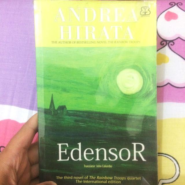 Edensor English Translated Andrea Hirata