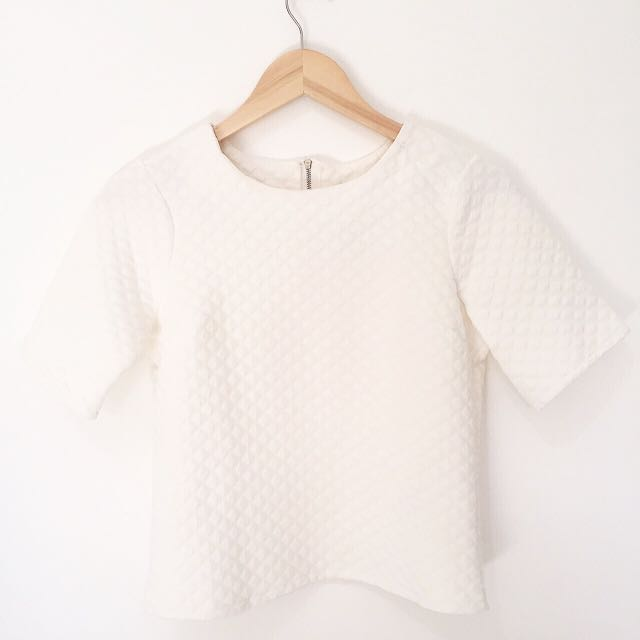 Editor's Market White Top