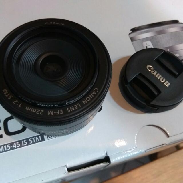 Fixed Lens Canon 22mm (Lensa Fix)