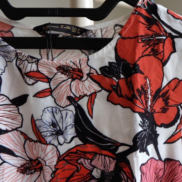 Flower Dress ( Casual Dress