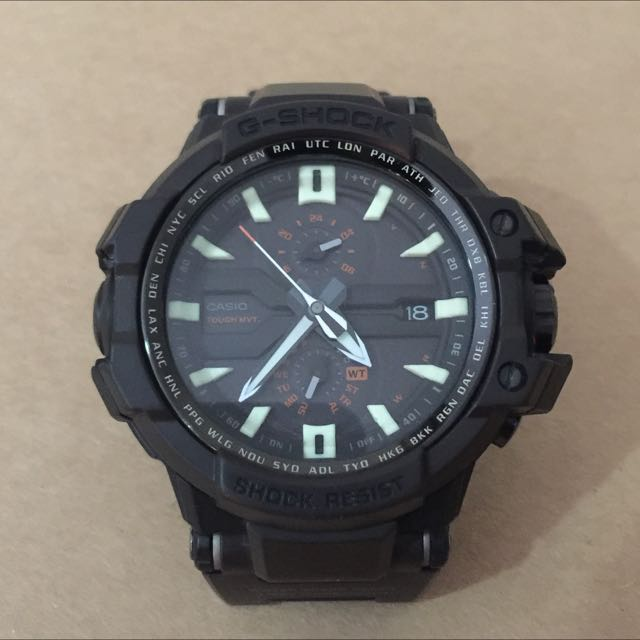 <reserved>G Shock Gravitymaster GW-A1000FC
