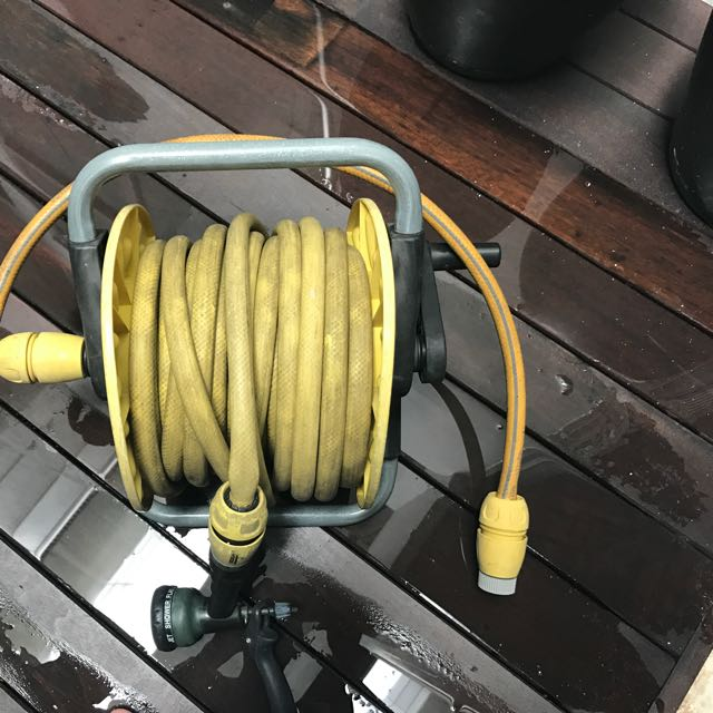 Garden Hose with sprinkler Head + Variety Of Hose Attachments