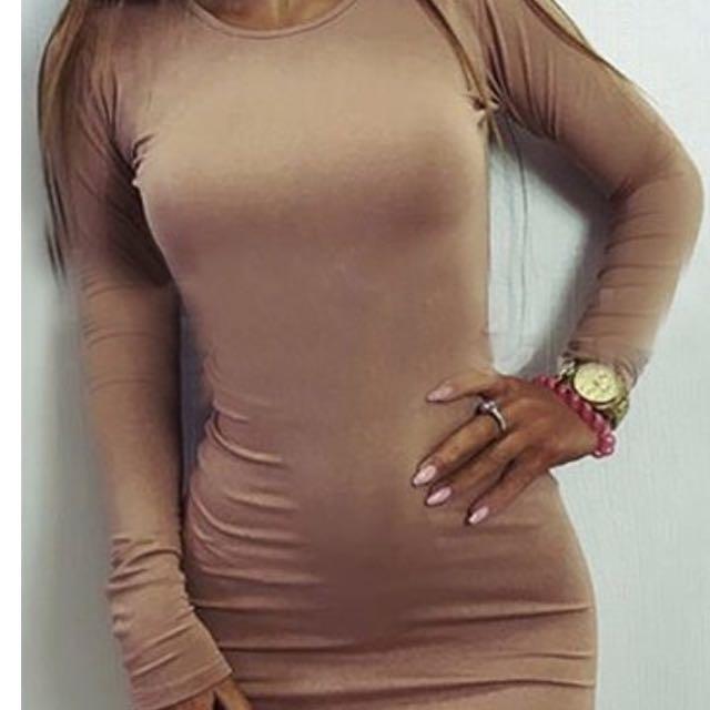 Gorgeous Tan Dress
