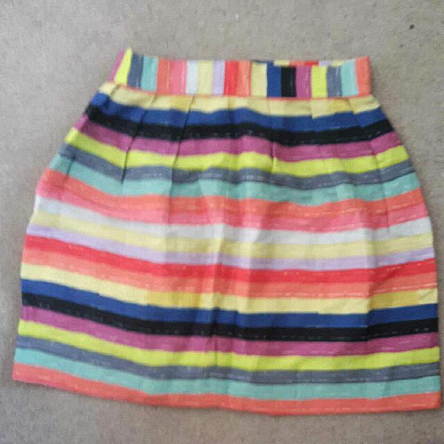 Gorman Stripe Summer Skirt